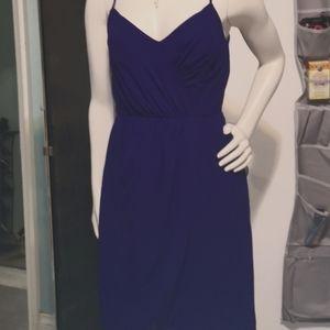 Alfred Angelo deep purple dress